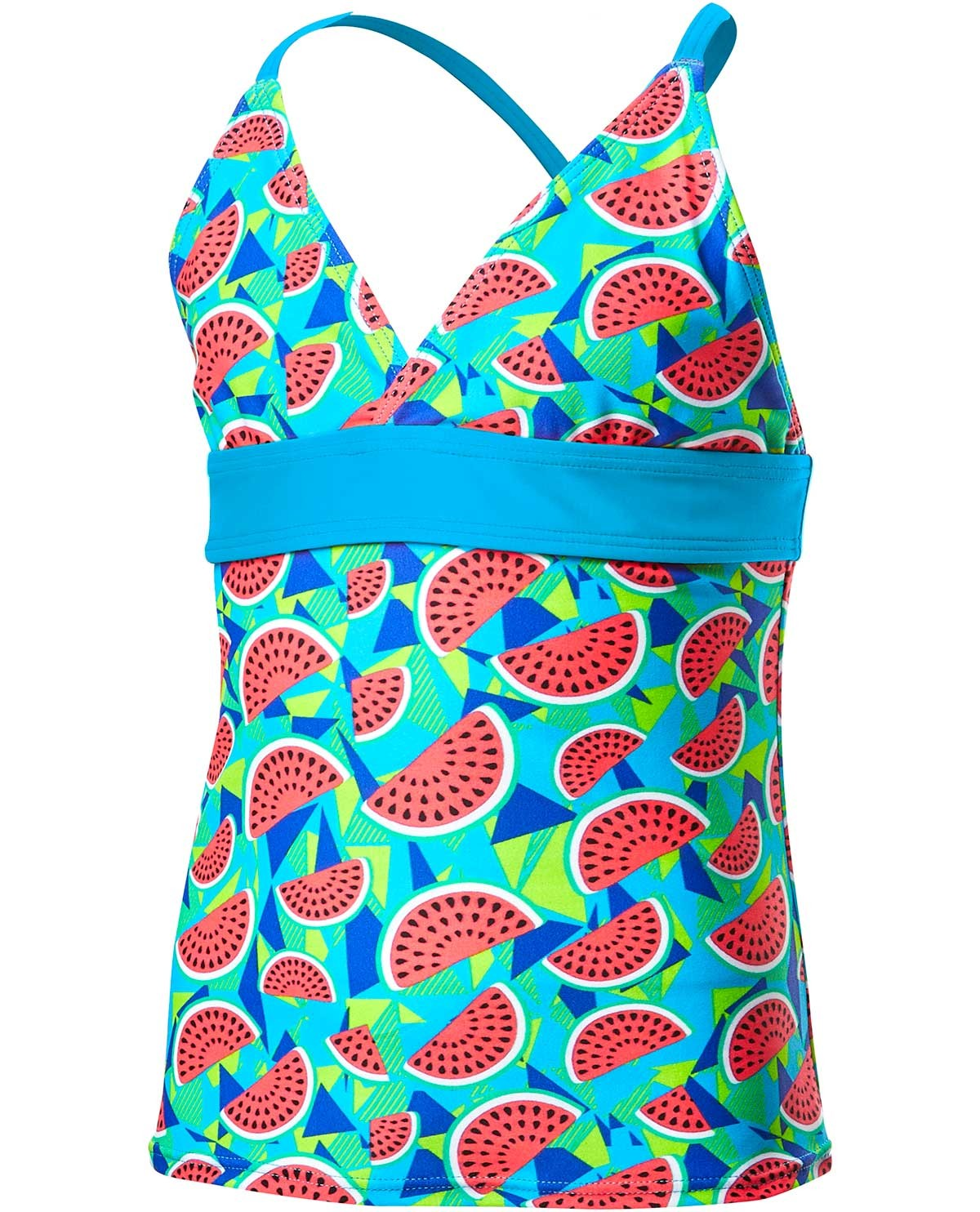 889dfad4e3c TYR Girls' Tutti Frutti Claire Tank - Turquoise ...