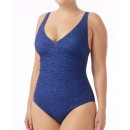 04839884b0 TYR Women s Mantra V-Neck Controlfit Swimsuit