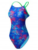 TYR Girls' Canvas Cutoutfit Swimsuit