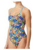 TYR Women's Astratto Cutoutfit Swimsuit