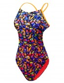 TYR Girls' Costa Mesa Cutoutfit Swimsuit