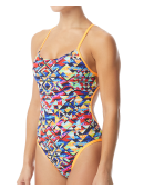 TYR Women's Mosaic Mojave Cutoutfit Swimsuit