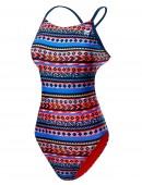 TYR Girls' Santa Fe Cutoutfit Swimsuit