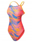 TYR Girls' Wave Rider Cutoutfit Swimsuit