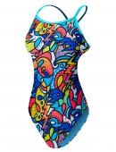 TYR Girls' Astratto Diamondfit Swimsuit
