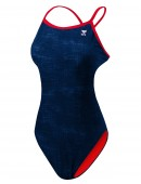 TYR Girls' Sandblasted Diamondfit Swimsuit
