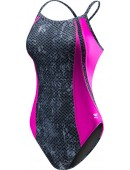 Girls' TYR Pink Viper Diamondfit Swimsuit