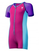 Girls' Solid Thermal Suit