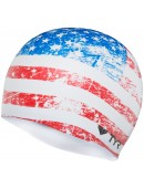 Old Glory Flag Swim Cap