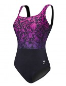 TYR Women's Plus Size Juniper Aqua Controlfit Swimsuit
