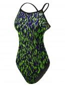 TYR Girls' Rasguno Crosscutfit Tieback Swimsuit