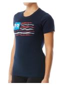 "TYR Women's ""Let Freedom Swim"" Graphic Tee"