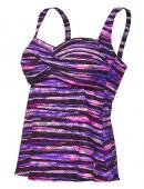 TYR Women's Bellvue Stripe Twisted Bra Tankini
