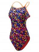 TYR Girls' Costa Mesa Trinityfit Swimsuit