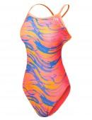 TYR Girls' Wave Rider Trinityfit Swimsuit