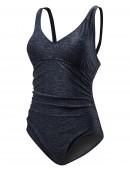 TYR Women's Mantra V-Neck Controlfit Swimsuit Plus