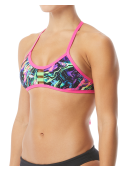 TYR Pink Women's Penello Pacific Tieback Top