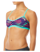 TYR Women's Teramo Crosscut Tieback Top