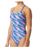 TYR Pink Women's Adrift Cutoutfit Swimsuit
