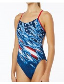 TYR Women's Live Free Cutoutfit Swimsuit