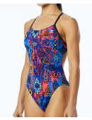 TYR Women's Santa Ana Cutoutfit Swimsuit