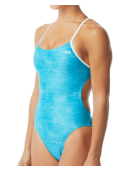 TYR Women's Sandblasted Cutoutfit Swimsuit