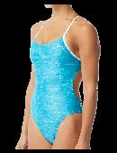 TYR Women's Sandblasted Cutoutfit Swimsuit