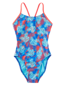 TYR Girls' Tortuga Cutoutfit Swimsuit