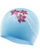 TYR Flowers Silicone Swim Cap