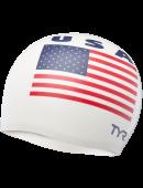 TYR USA Silicone Adult Swim Cap