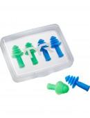 TYR Ergo Flex Ear Plugs  - 4 Pack
