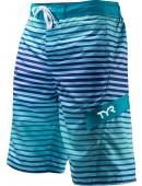 Men's Sunset Stripe Springdale Boardshort