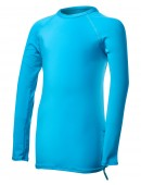 TYR Girls' Solid Long Sleeve Rashguard