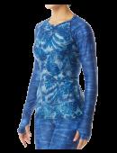 TYR Women's Belize Long Sleeve Rashguard- Maui