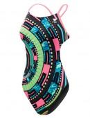 Girls' Anik Cutoutfit Swimsuit