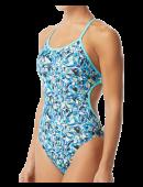 TYR Women's Fragment Crosscutfit Tieback Swimsuit