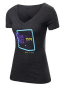 TYR Women's Pro Series Mesa V-Neck Tee