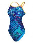 TYR Girl's Machu Crosscutfit Tieback Swimsuit