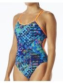 TYR Women's Machu Crosscutfit Tieback Swimsuit