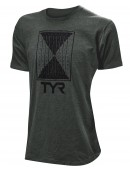 """TYR Men's """"Time Lapse"""" Graphic Tee"""