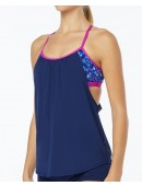 TYR Women's Shea 2 in 1 Tank-Santa Cruz