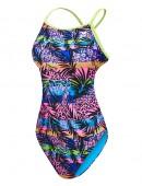 TYR Girls' Sumatra Crosscutfit Tieback Swimsuit
