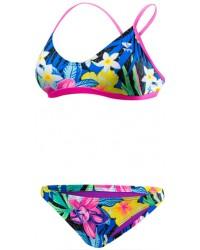 Women's Amazonia Crosscutfit Tieback Workout Bikini