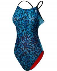 TYR Girls' Burano Cutoutfit Swimsuit