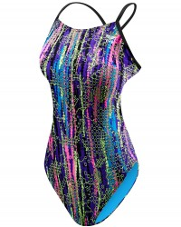 TYR Girl's Hiromi Cutoutfit Swimsuit