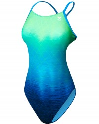 TYR Girls' Kinematic Cutoutfit Swimsuit