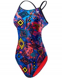 TYR Girl's Santa Ana Cutoutfit Swimsuit