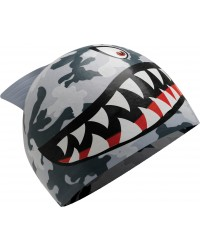 TYR Shark Silicone Youth Swim Cap