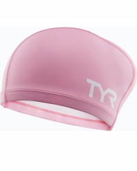 TYR Junior Silicone Comfort Long Hair Cap