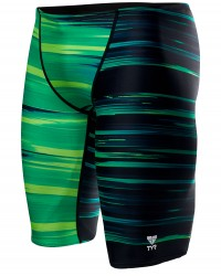 TYR Boys' Lumen Jammer Swimsuit- Green